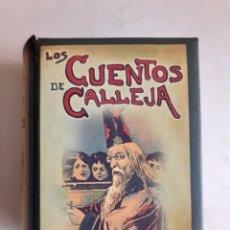 Libros de segunda mano: CAJA DE 12 CUENTOS DE CALLEJA. REEDICIÓN.. Lote 276045843