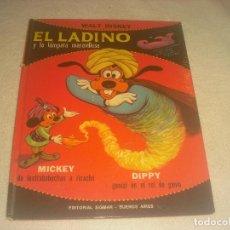 Libros de segunda mano: EL ALADINO Y LA LAMPARA MARAVILLOSA , MICKEY, DIPPY. WALT DISNEY , CHISPAS MAGICAS. ED. SIGMAR.. Lote 276114218