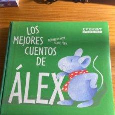 Libros de segunda mano: LOS MEJORES CUENTOS DE ÁLEX. NORBERT LANDA/HANNE TÜRK. Lote 276219973