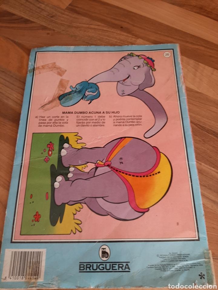 Libros de segunda mano: 1973 Dumbo arranca , pega y colorea - Foto 2 - 276681673