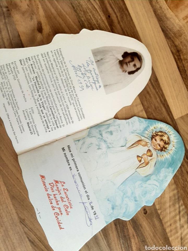 Libros de segunda mano: Difícil cuento mi primera comunión Carmelitas descalzas - Foto 2 - 276682548
