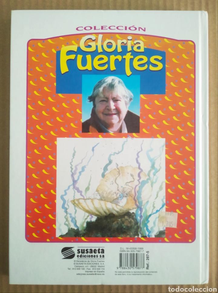 Libros de segunda mano: Un Pulpo en un Garaje y Otros Cuentos, por Gloria Fuertes (Susaeta, 1999). Cuentos de Humor. - Foto 2 - 277058743