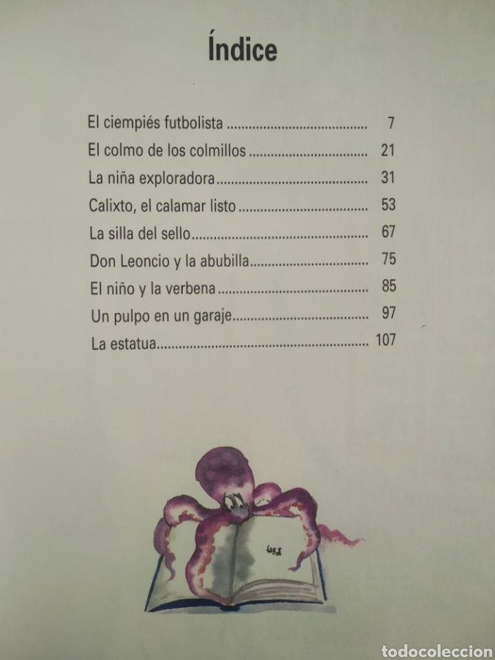 Libros de segunda mano: Un Pulpo en un Garaje y Otros Cuentos, por Gloria Fuertes (Susaeta, 1999). Cuentos de Humor. - Foto 3 - 277058743