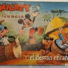 Libros de segunda mano: MICKEY EN LA JUNGLA. WALT DISNEY. IMÁGENES EN RELIEVE.. POP-UP. MUY BUEN ESTADO. Lote 277141633