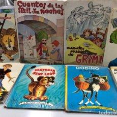 Libros de segunda mano: GRAN LOTE DE CUENTOS AÑOS 50 Y 60 PRECIOSAMENTE ILUSTRADOS. Lote 277157173