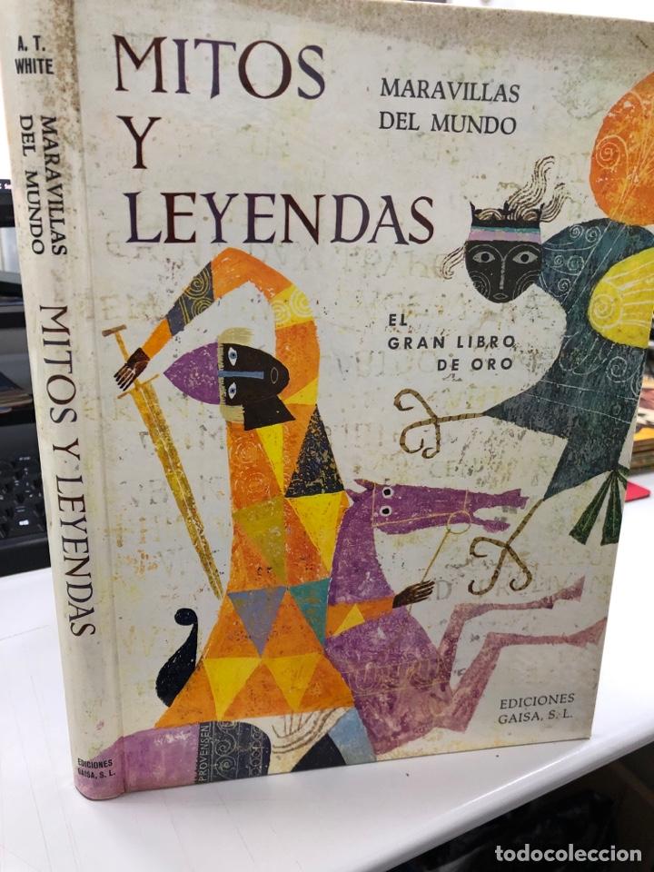 AÑOS 60 PRECIOSO MITOS Y LEYENDAS MARAVILLAS DEL MUNDO GAISA LIBRO DE ORO (Libros de Segunda Mano - Literatura Infantil y Juvenil - Cuentos)