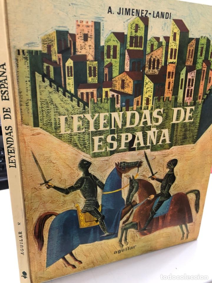 LEYENDAS DE ESPAÑA AÑOS 60 JIMÉNEZ LANDI - (Libros de Segunda Mano - Literatura Infantil y Juvenil - Cuentos)