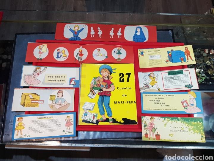 LIBRO 27 CUENTOS DE MARIPEPA LUCRECIA DURAN EMILIA COTARELO MÁS 7 SUPLEMENTOS ILUSTRADOS! MARI PEPA (Libros de Segunda Mano - Literatura Infantil y Juvenil - Cuentos)
