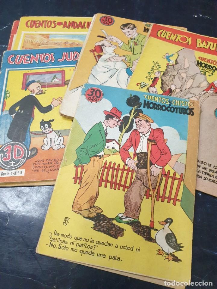CUENTOS Y CHISTES MORROCOTUDOS (LOTE 10 +1 DE REGALO QUE NO TIENE PORTADA) (Libros de Segunda Mano - Literatura Infantil y Juvenil - Cuentos)
