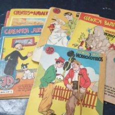 Libros de segunda mano: CUENTOS Y CHISTES MORROCOTUDOS (LOTE 10 +1 DE REGALO QUE NO TIENE PORTADA). Lote 277518603