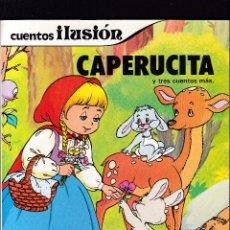 Libros de segunda mano: CAPERUCITA Y TRES CUENTOS MÁS - SUSAETA EDITORIAL 1981. Lote 277588513