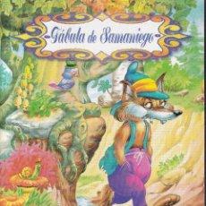 Libros de segunda mano: LA ZORRA Y LAS UVAS - FABULA DE SAMANIEGO - SERVILIBRO. Lote 277590063