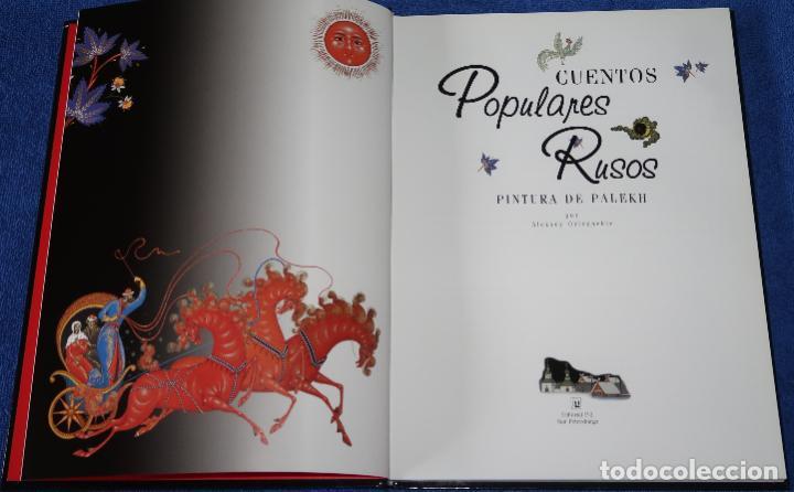 Libros de segunda mano: Cuentos populares rusos - A.Raskin - Editorial P-2 - San Petersburgo (2000) - Foto 3 - 277668523