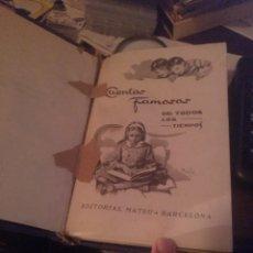 Libros de segunda mano: CUENTOS FAMOSOS DE TODOS LOS TIEMPOS. MATEU 1962. Lote 277846193