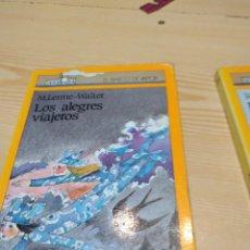Libros de segunda mano: C-19 LIBRO LOS ALEGRES VIAJEROS, DE M. LERME-WALTER (SM. BARCO DE VAPOR). Lote 277846563