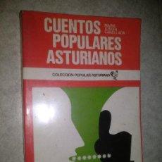 Libros de segunda mano: CUENTOS POPULARES ASTURIANOS. / CANELLADA, MARÍA JOSEFA / COLECCION POPULAR ASTURIANA 48. Lote 278205493