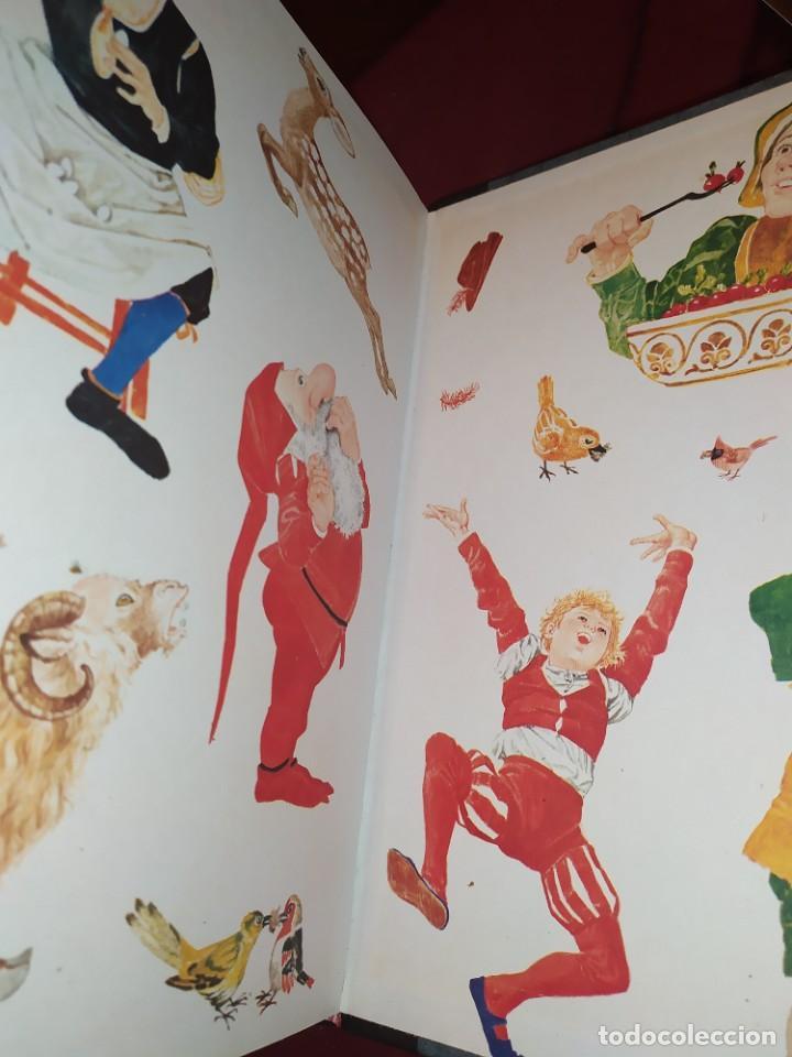 Libros de segunda mano: CUENTOS DE GRIMM TUS AMIGOS 1970 BENVENUTI OCA ORO JUAN SUERTE PICO TORDO REY RANA BREMA VERDEZUELA - Foto 3 - 278302348