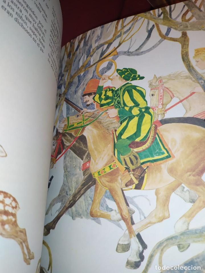 Libros de segunda mano: CUENTOS DE GRIMM TUS AMIGOS 1970 BENVENUTI OCA ORO JUAN SUERTE PICO TORDO REY RANA BREMA VERDEZUELA - Foto 5 - 278302348