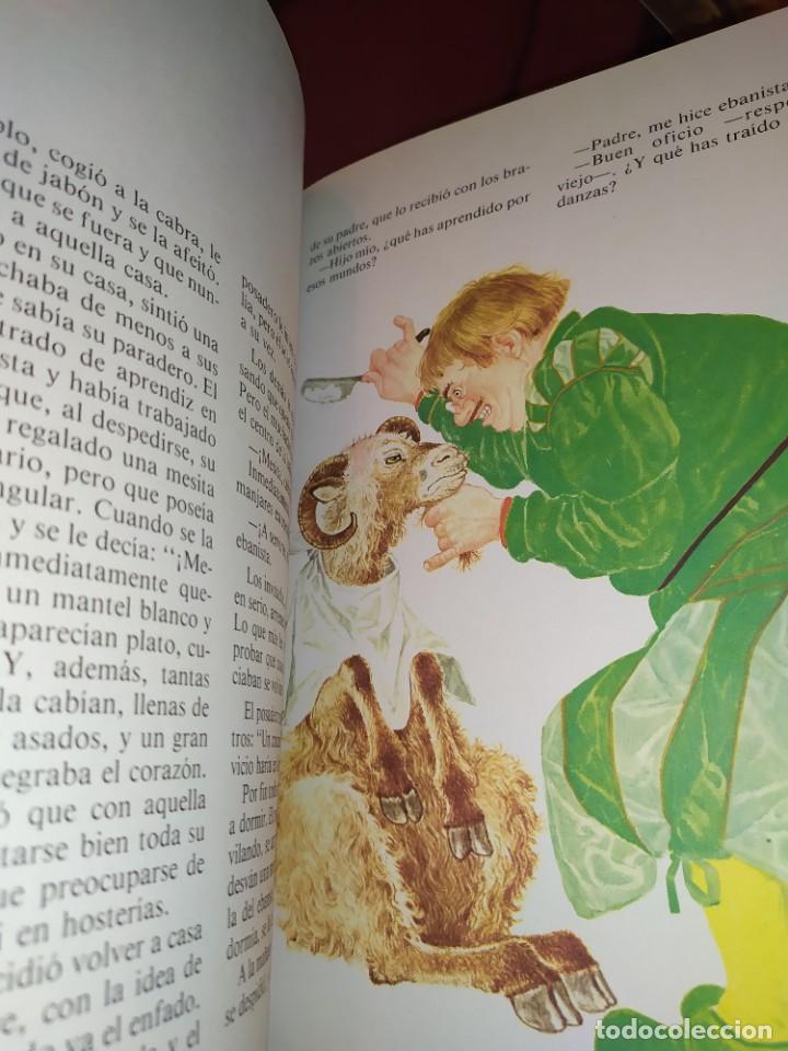 Libros de segunda mano: CUENTOS DE GRIMM TUS AMIGOS 1970 BENVENUTI OCA ORO JUAN SUERTE PICO TORDO REY RANA BREMA VERDEZUELA - Foto 8 - 278302348