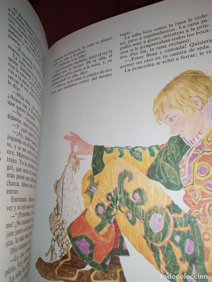 Libros de segunda mano: CUENTOS DE GRIMM TUS AMIGOS 1970 BENVENUTI OCA ORO JUAN SUERTE PICO TORDO REY RANA BREMA VERDEZUELA - Foto 9 - 278302348
