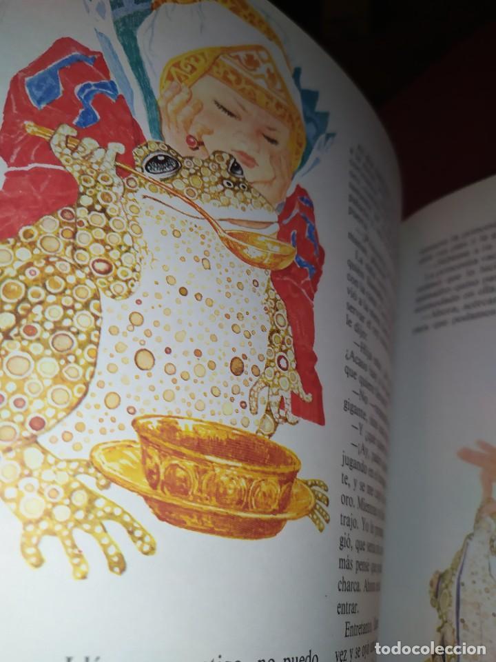 Libros de segunda mano: CUENTOS DE GRIMM TUS AMIGOS 1970 BENVENUTI OCA ORO JUAN SUERTE PICO TORDO REY RANA BREMA VERDEZUELA - Foto 10 - 278302348