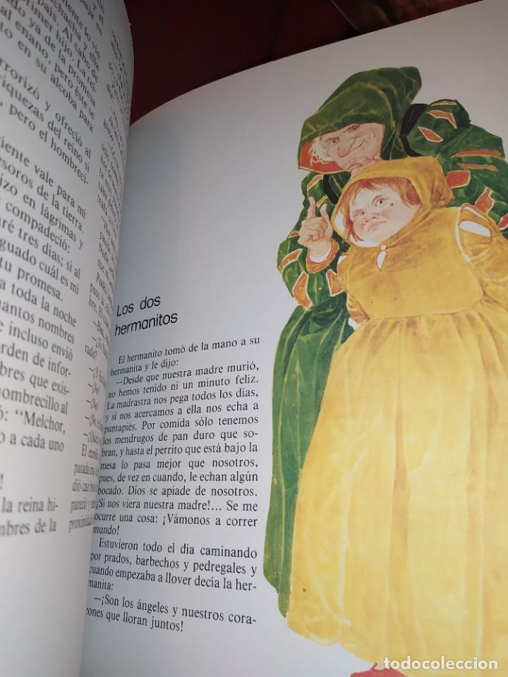Libros de segunda mano: CUENTOS DE GRIMM TUS AMIGOS 1970 BENVENUTI OCA ORO JUAN SUERTE PICO TORDO REY RANA BREMA VERDEZUELA - Foto 11 - 278302348