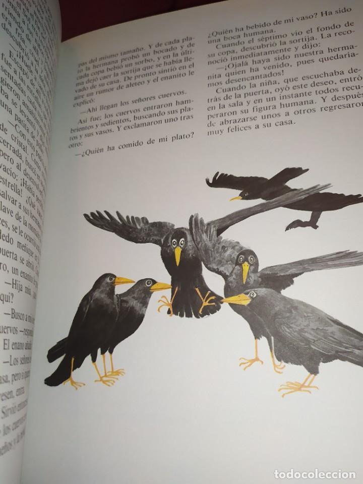 Libros de segunda mano: CUENTOS DE GRIMM TUS AMIGOS 1970 BENVENUTI OCA ORO JUAN SUERTE PICO TORDO REY RANA BREMA VERDEZUELA - Foto 15 - 278302348