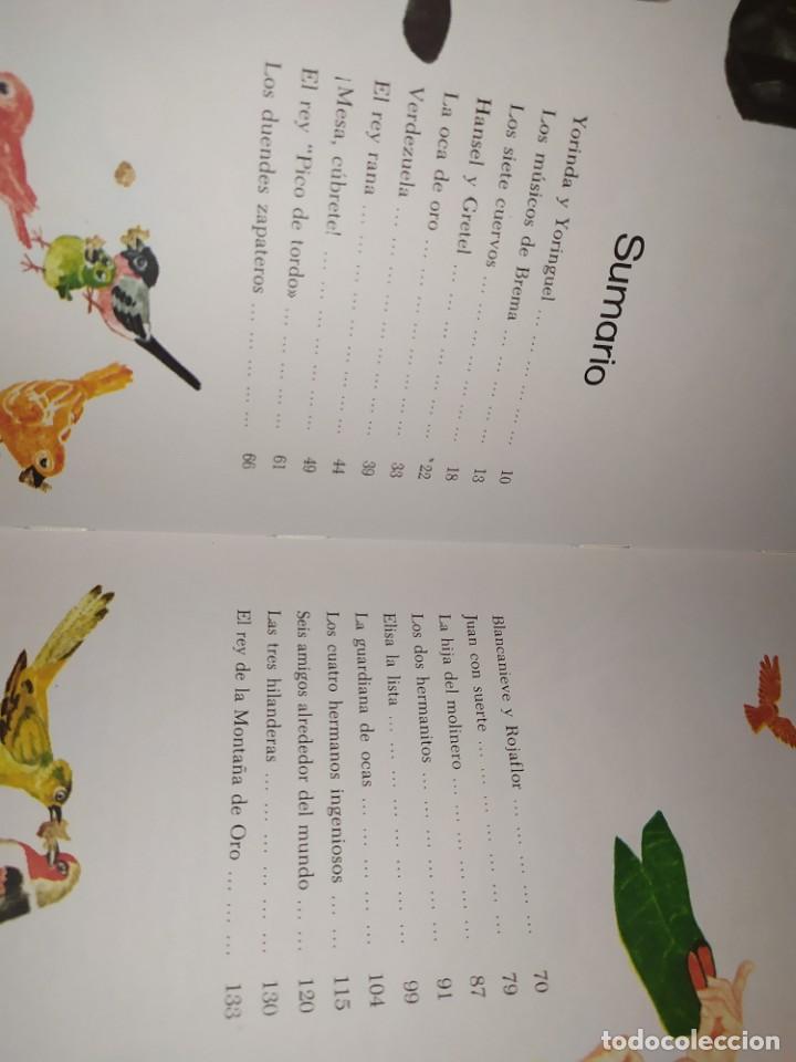 Libros de segunda mano: CUENTOS DE GRIMM TUS AMIGOS 1970 BENVENUTI OCA ORO JUAN SUERTE PICO TORDO REY RANA BREMA VERDEZUELA - Foto 18 - 278302348