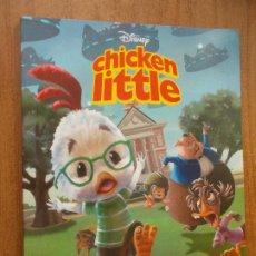 Libros de segunda mano: CHICKEN LITTLE - DISNEY - EVEREST. Lote 278421133