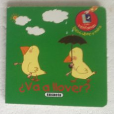 Libros de segunda mano: DESCUBRE Y MIRA: ¿VA A LLOVER? - OFERTAS DOCABO. Lote 279411898