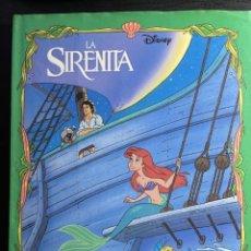 Livros em segunda mão: LIBROS DISNEY LA SIRENITA. Lote 280410793