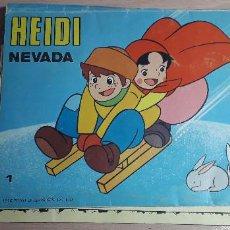 Livros em segunda mão: 11-00732 - CUENTO PANORAMICO HEIDI -1976-ZUIYO ENTERPRISE. Lote 280954908