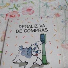 Libros de segunda mano: M-45 LIBRO REGALIZ SANTILLANA VA DE COMPRAS INFANTIL. Lote 284165908