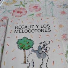 Libros de segunda mano: M-45 LIBRO REGALIZ SANTILLANA Y LOS MELOCOTONES. Lote 284165983
