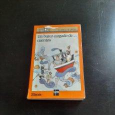 Libros de segunda mano: UN BARCO DE CUENTOS. Lote 284325793
