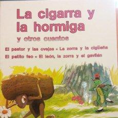 Libri di seconda mano: LA CIGARRA Y LA HORMIGA Y OTROS CUENTOS. SUEÑOS INFANTILES. EDITORIAL RAMON SOPENA. Lote 287480158
