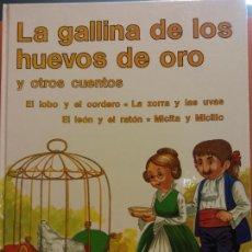 Libri di seconda mano: LA GALLINA DE LOS HUEVOS DE ORO Y OTROS CUENTOS. SUEÑOS INFANTILES. EDITORIAL RAMON SOPENA. Lote 287480313