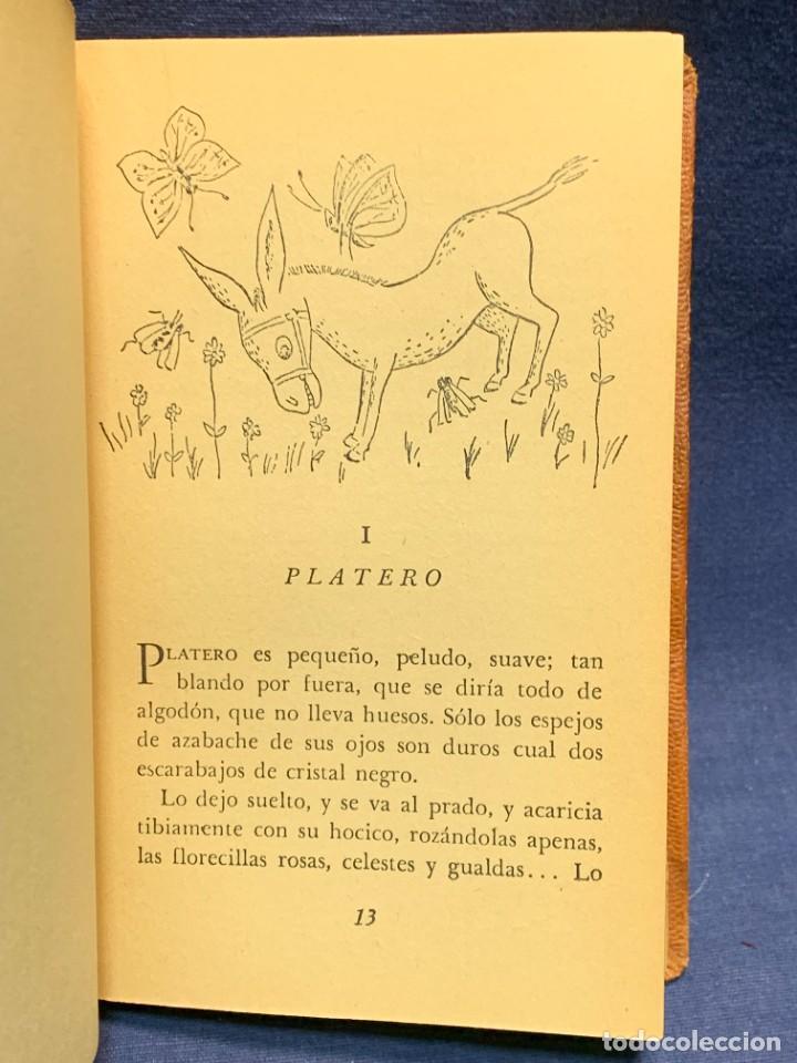 Libros de segunda mano: LIBRO PLATERO Y YO JUAN RAMON JIMENEZ ILUSTRACIONES ATTILIO ROSSI 1929 PIEL 17X11,5CMS - Foto 5 - 287916198