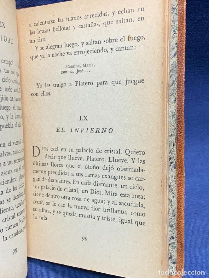 Libros de segunda mano: LIBRO PLATERO Y YO JUAN RAMON JIMENEZ ILUSTRACIONES ATTILIO ROSSI 1929 PIEL 17X11,5CMS - Foto 7 - 287916198