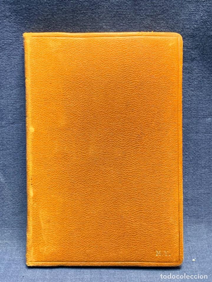 Libros de segunda mano: LIBRO PLATERO Y YO JUAN RAMON JIMENEZ ILUSTRACIONES ATTILIO ROSSI 1929 PIEL 17X11,5CMS - Foto 10 - 287916198