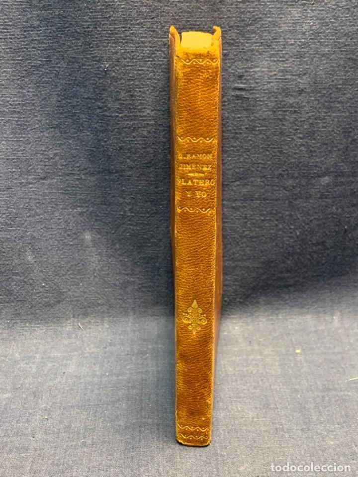 Libros de segunda mano: LIBRO PLATERO Y YO JUAN RAMON JIMENEZ ILUSTRACIONES ATTILIO ROSSI 1929 PIEL 17X11,5CMS - Foto 11 - 287916198