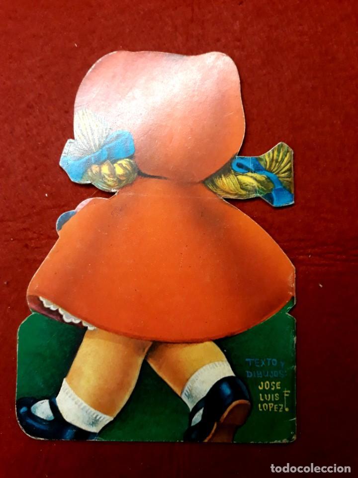 Libros de segunda mano: 4 Minitroquelados Saldaña ( Ver Relación Titulos ) San Sebastian 1971 - Foto 3 - 288206383