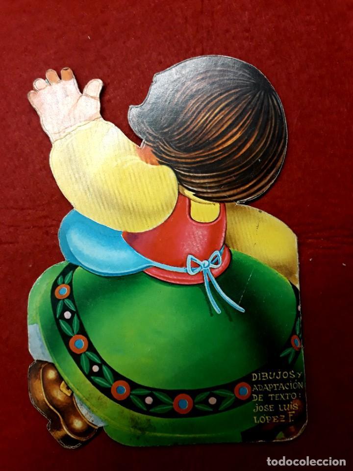 Libros de segunda mano: 4 Minitroquelados Saldaña ( Ver Relación Titulos ) San Sebastian 1971 - Foto 7 - 288206383