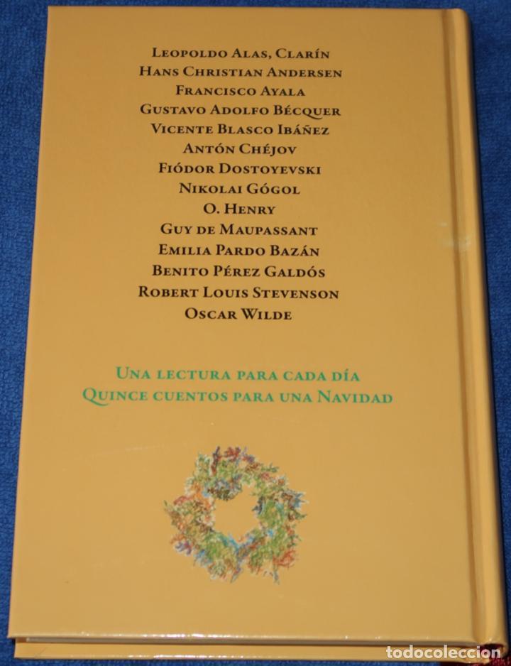 Libros de segunda mano: Cuentos para una Navidad - Navidad 2012 - ANAYA ¡Edición numerada, ejemplar 725! - Foto 5 - 288359638