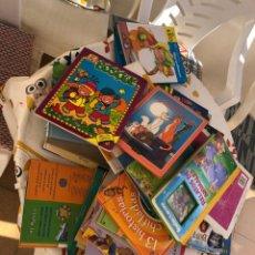 Libros de segunda mano: 80 CUENTOS O LIBROS INFANTILES POR 20€ SALEN A 0,25€ UNIDAD. Lote 288376933