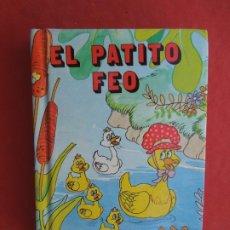 Libros de segunda mano: EL PATITO FEO - MINIESCOGIDOS - SUSAETA EDICIONES 1983 - TAPA DURA- 11X8 CM.. Lote 288643483