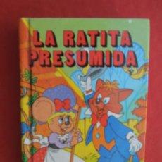 Libros de segunda mano: LA RATITA PRESUMIDA - MINIESCOGIDOS - SUSAETA EDICIONES 1983 - TAPA DURA- 11X8 CM.. Lote 288643613
