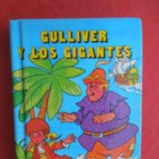 Libros de segunda mano: GULLIVER Y LOS GIGANTES - MINIESCOGIDOS - SUSAETA EDICIONES 1983 - TAPA DURA- 11X8 CM.. Lote 288643708