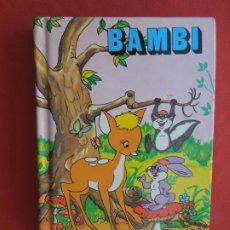 Libros de segunda mano: BAMBI - MINIESCOGIDOS - SUSAETA EDICIONES 1983 - TAPA DURA- 11X8 CM.. Lote 288643973