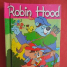 Libros de segunda mano: ROBIN HOOD - MINIESCOGIDOS - SERVILIBRO EDICIONES - TAPA DURA- 11X8 CM.. Lote 288644708